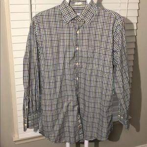 Peter Millar medium button down shirt.